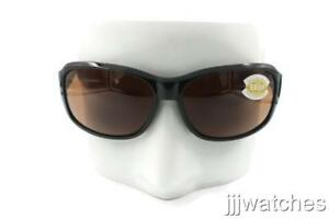 aef42bbab9da6 NEW Costa Del Mar INLET Tortoise   580 Green Mirror Plastic 580P Sunglasses