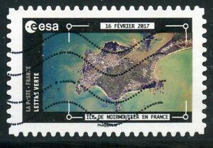 Brillant France Autoadhesif Oblitere N° 1580 La Terre Vue De La Station Spatiale Pesquet