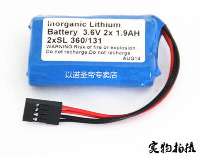For schneider Tsx17 battery 2x SL360 131 3.6V