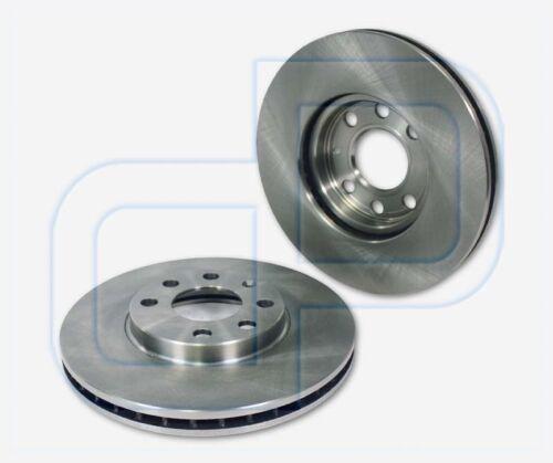 2 Bremsscheiben OPEL Astra G Felge 4-Loch vorneVorderachse Ø  256 mm belüftet