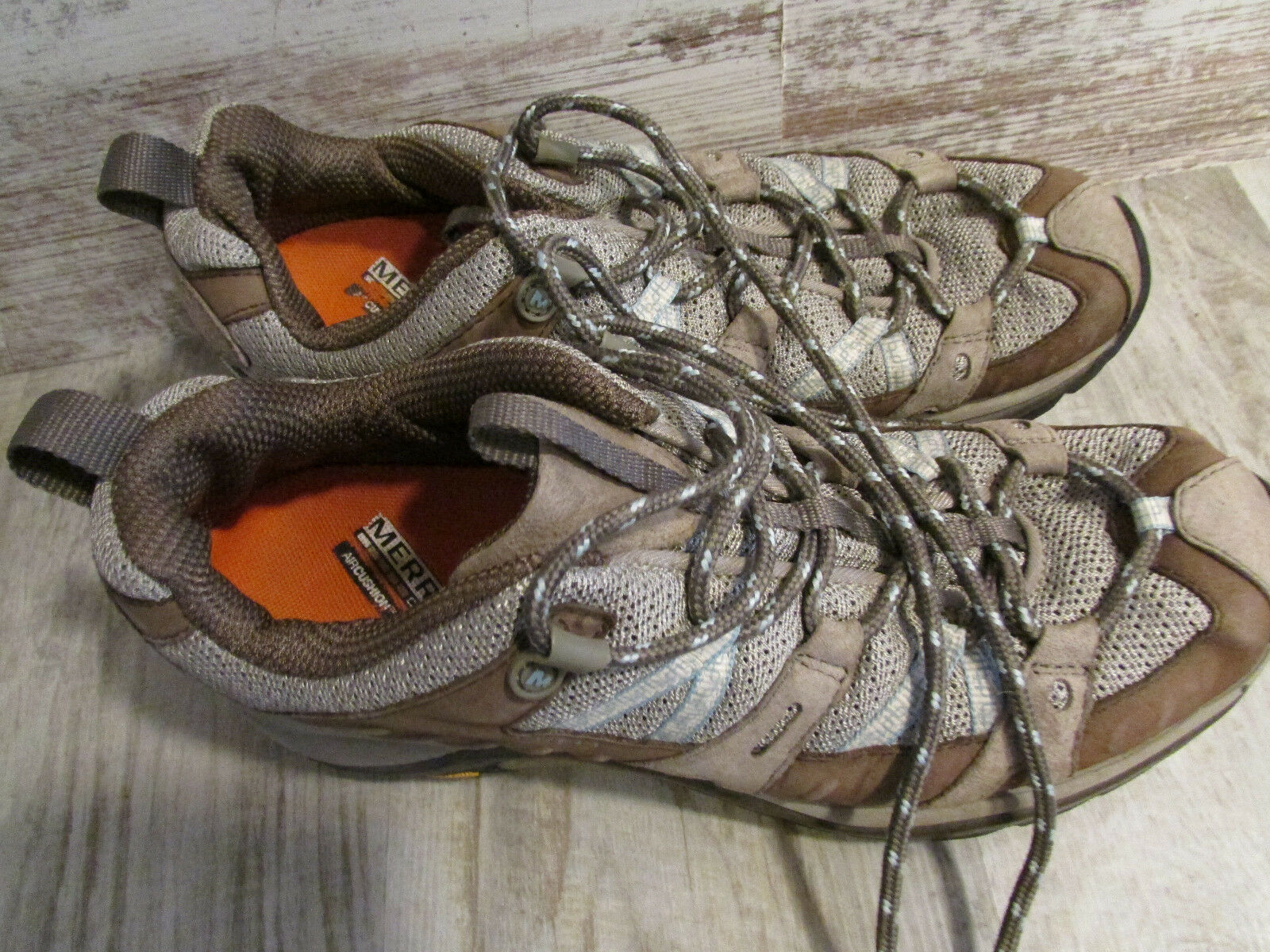 MERRELL ATHLETIC SNEAKER SHOES WOMENS 8.5 BROWN HIKING SHOES SIREN SPORT