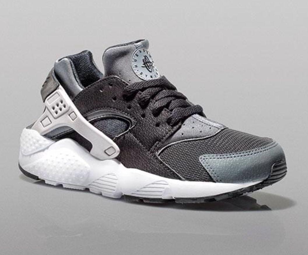 Nike Air Huarache 'Black Wolf Grey' Boys Girls & Womens GENUINE *All Sizes*