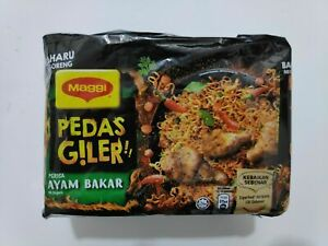 15-x-76g-Maggi-Pedas-Giler-Crazy-Hot-Ayam-Bakar-Instant-Noodles-FREE-SHIPPING