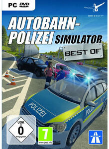 pc computer spiel autobahn polizei simulator polizei auto simulation neu ebay. Black Bedroom Furniture Sets. Home Design Ideas