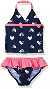 Osh Kosh B/'gosh Infant Girls Striped 1pc Swimsuit Size 3M 6M 9M 12M 18M 24M