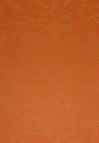 Auswahl 4 Farben 5 Blatt DIN A4 Baumwoll-Papier mit Metallpunkt Druck