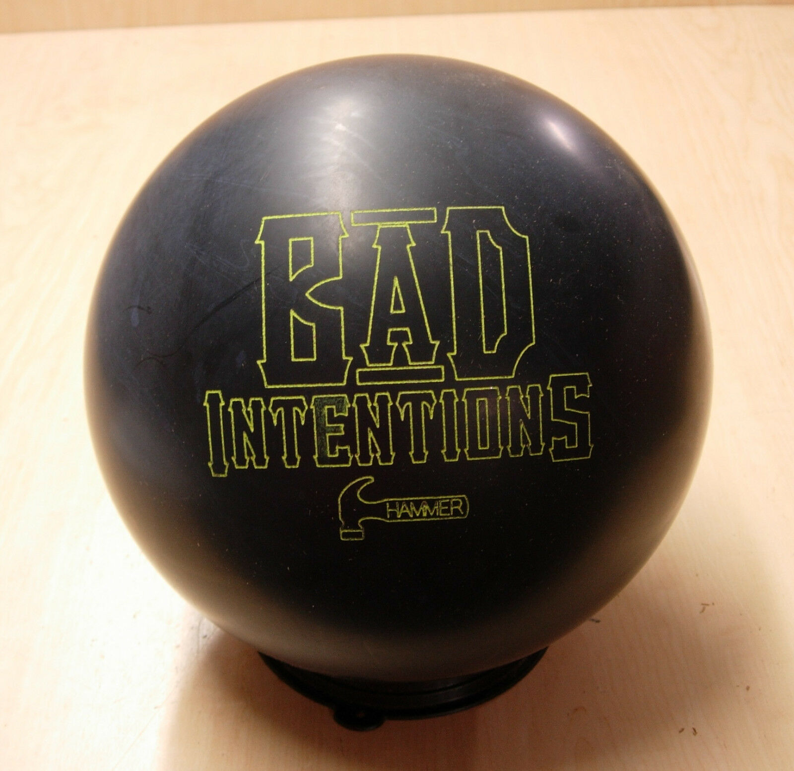 = 15oz TW 2-3 4, Pin 2-3 NIB Hammer BAD INTENTIONS Bowling Ball