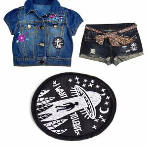 UFO-Alien-Patch-Embroidery-Applique-Badge-Sew-Iron-On-Bag-Hat-Clothes-Craft-DIY