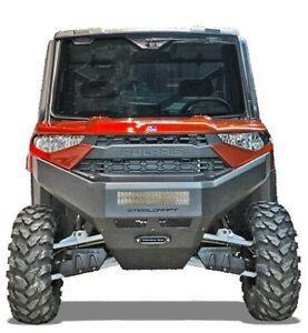 New Polaris Ranger Xp1000 1000 Ranger Winch Mount Front Bumper 18 19 20 Ebay