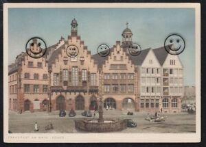 771O-AK-Frankfurt-am-Main-Der-Roemer-amp-Alte-Autos-Oldtimer-Hessen