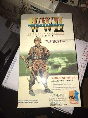 1/6 Scala Nuovo Inscatolato Drago WWII Tedesco Wilhelm Granatiere Panzer Figura