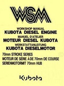 kubota 70mm d850 dh850 d950 v1100 b service manual ebay rh ebay com Kubota D850 Engine Parts D850 Kubota Magneto