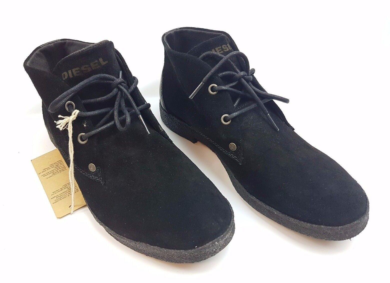 DIESEL ALBA Herren Y00779 Leder Zapatos Sneaker HalbZapatos Y00779 Herren Man Zapatos Sneakers G9 237d06