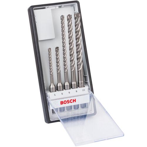 Bosch 5-tlg 6 SDS-plus-7X Hammerbohrer-Set Ø 5 10 mm Betonbohrer 8 6
