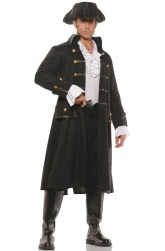 Underwraps Captain Darkwater Pirate Nautical Adult Mens Halloween Costume 28480