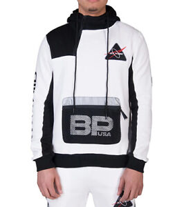 Black-Pyramid-original-Mens-Space-2-0-Fleece-White-Hoodie-Reflective-Grey