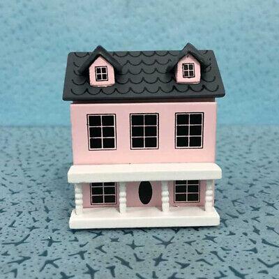 1//12 Dollhouse Miniature Mini Furniture Birch Bed Doll House DIY Decor