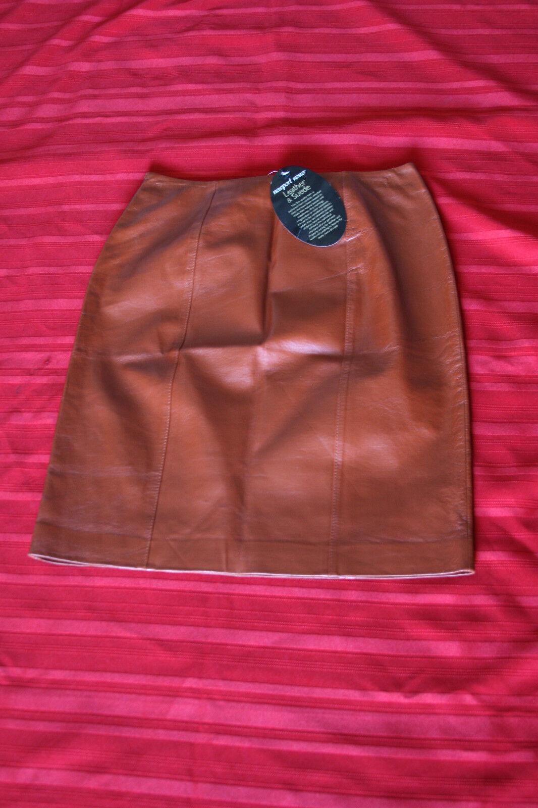 Newport News Leather & Suede Cami International Shell All Leather Größe 6 daMänner