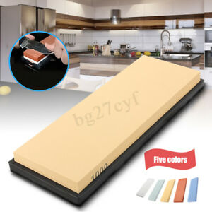Multi-Grit-Knife-Sharpener-Sharpening-Whetstone-Polishing-Water-Wet-Oil