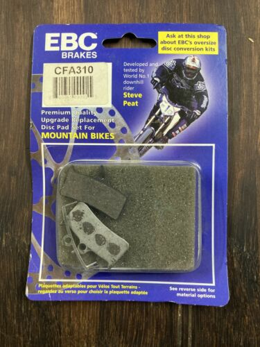 Hope MM4 Shimano XT 4 Piston Brake Pads EBC Green FA310