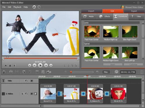 MOV Movavi Video Editor 14 Business AVI MTS MPEG Edit Videos DIVX