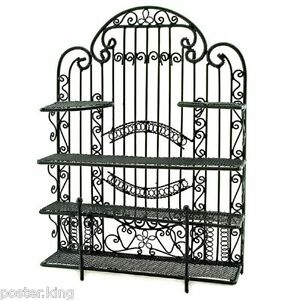 black new wire jewelry earring necklace display holder