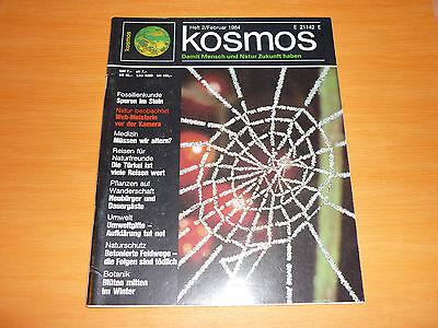 Begeistert Kosmos - Magazin Heft 2 Februar 1984 - Das Originelle Geschenk Zum Geburtstag