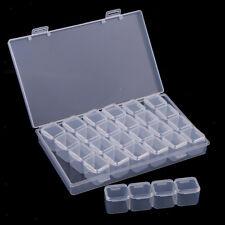 Kunststoff Aufbewahrungsbox Sortierbox Herz Basteln Perlen transparent