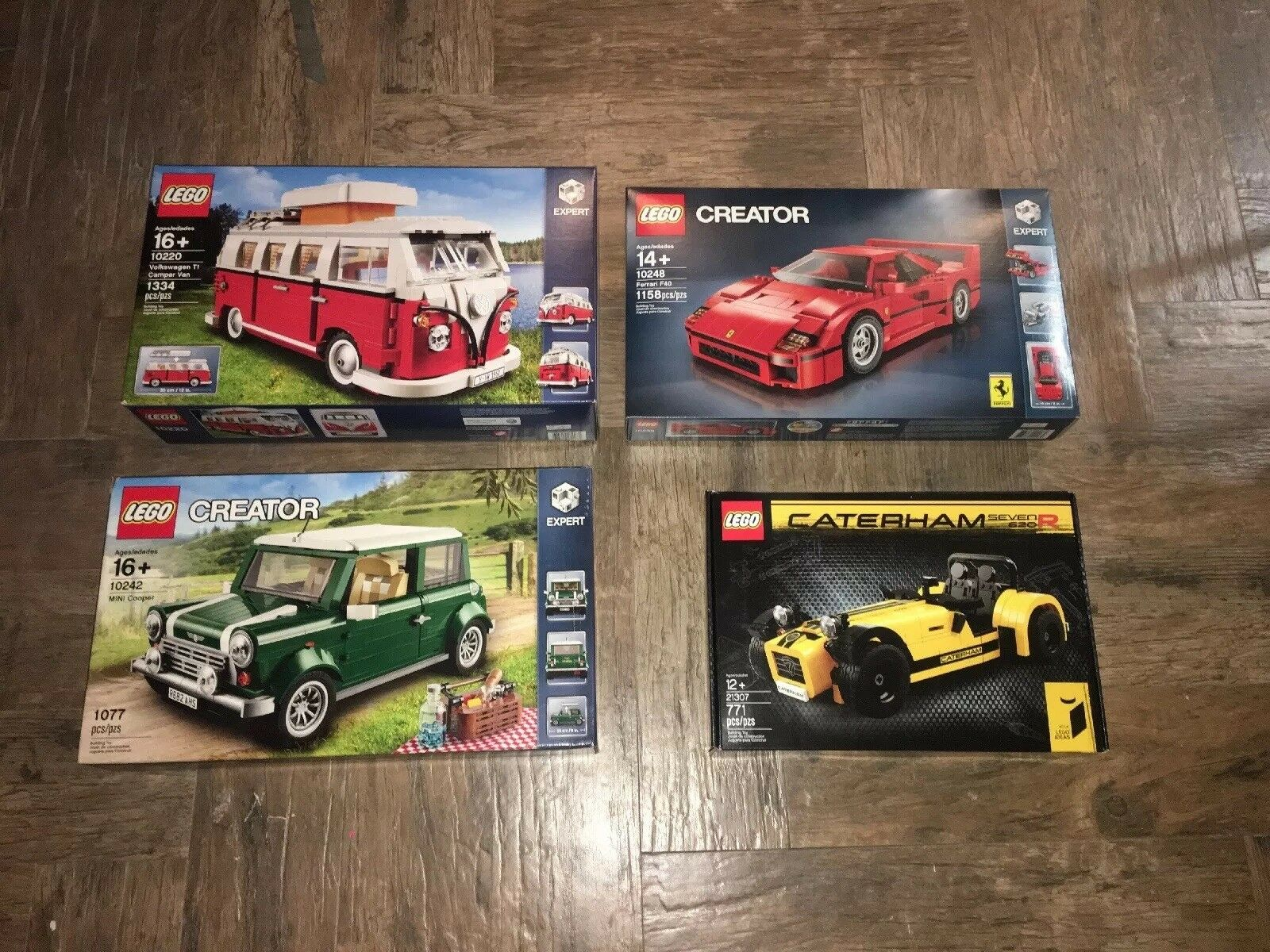 Lego creator Expert Set Of Of Of Four 10248, 10220, 10242, 21307 5f8a04