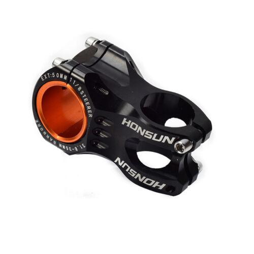 HONSUN Stem Aluminum MTB Mountain Road XC AM Bike handlebar Riser  31.8*50mm New
