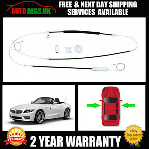 Bmw Z4 Roadster Coupe Electric Window Regulator Repair Kit Front