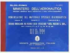 MACCHI MC200 SAETTA 1942 20a 24a Serie CA445-4  AIRCRAFT  Nomenclatore - DVD