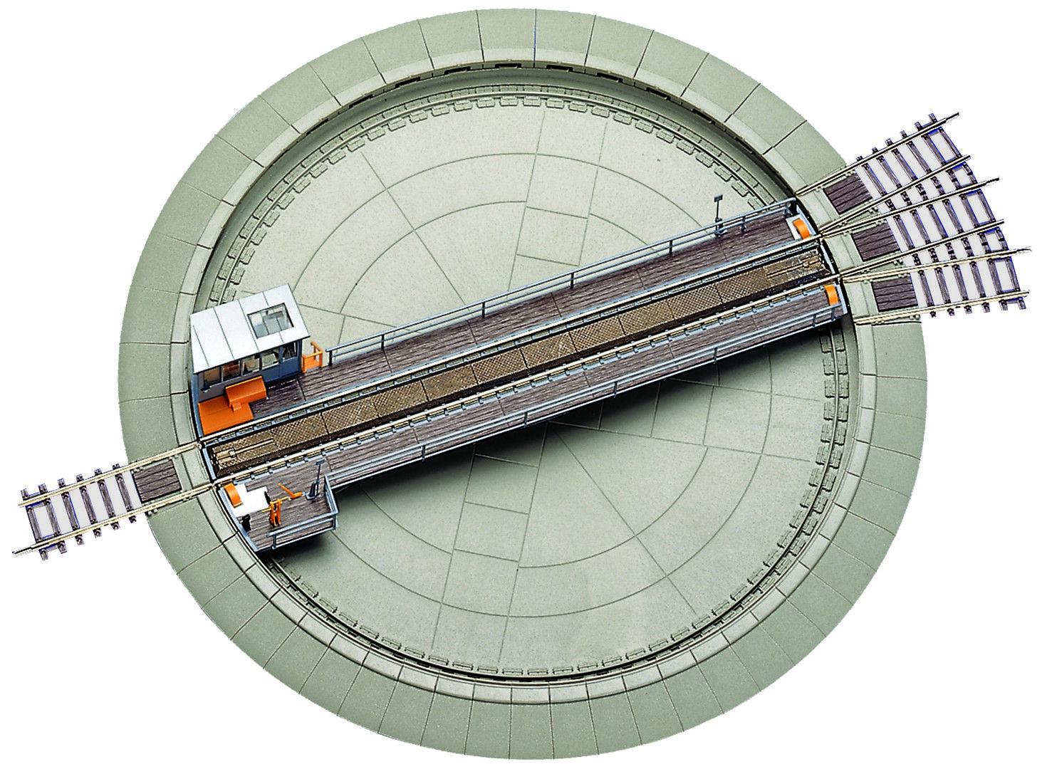 ROCO 42515 piattaforma girevole per zweileter DC e tre capo utilizzabile AC NUOVO OVP