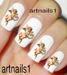 Angel-Cherub-Nail-Art-Water-Decals-Stickers-Wedding-Manicure-Salon-Polish-Mani