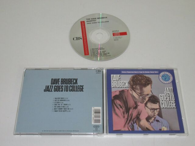 The Dave Brubeck Quartet / Jazz Goes To College (CBS 465682 2) CD Album