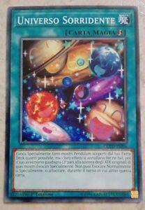 3X-UNIVERSO-SORRIDENTE-COTD-IT056-COMUNE-MINT-YUGIOH