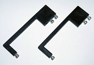Details about 2x Black Plastic Handles for Industrial Test Equipment Lab  Instruments 19