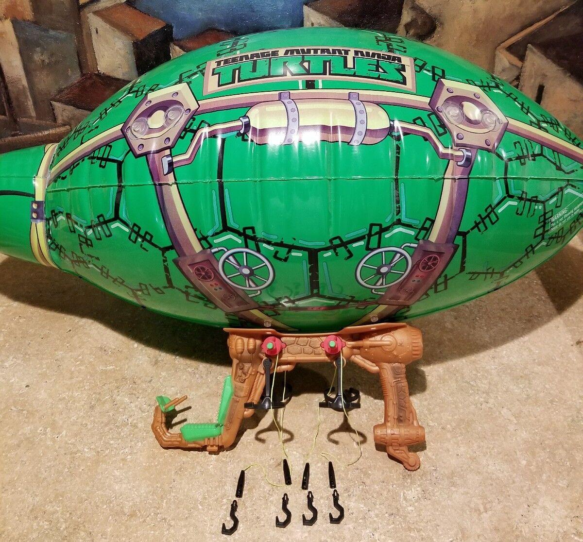 Teenage Mutant Ninja Turtles Rare Awesome BLIMP Vehicle 2014 TMNT