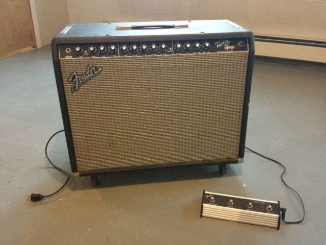 Fender Pro Tube Twin-Amp 100 watt Guitar Amp