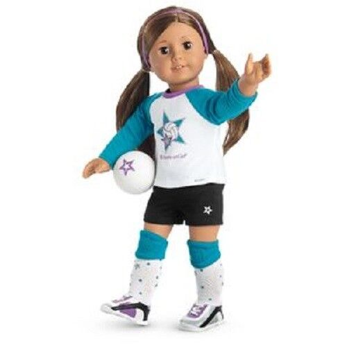American Girl  Outfit Star Player Volleyball Outfit   - COMPLETE - NEW 8f91d4