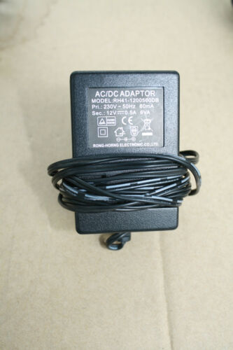 UK SELLER AC//DC ADAPTOR RH41-L200500DB 12V 0.5A 2 for £10 MCP REF