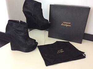 Very Heels Pony 5 Shoes Size Ashish Topshop 38 Rare Uk Black Wedge 4aBCnxzwq
