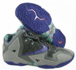 watch 881e3 bea0d Details about 2013 Nike Lebron 11 TERRACOTTA WARRIOR SZ 16 COOL GREY PURPLE  616175-005