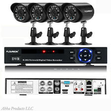Outdoor IR Home Security 960 HD 4pc Surveillance Video Camera DVR Box System Set