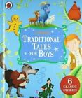 Ladybird Traditional Tales for Boys 6 Classic Stories Hardcover