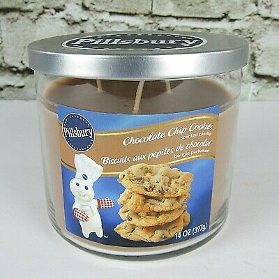 Scented Candle Pillsbury Chocolate Chip Cookies Candle 1 candle,