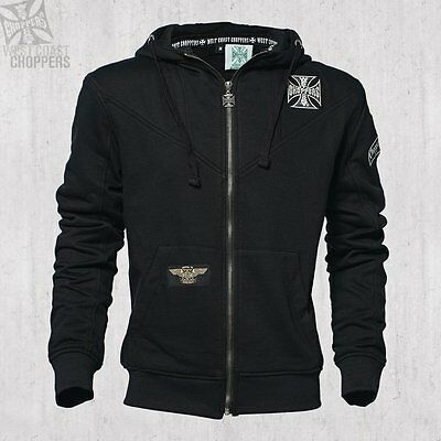 WEST COAST CHOPPERS - Cross Zip Hoody