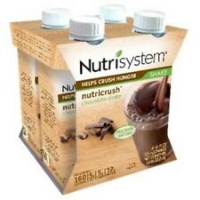 💗 4ct Nutrisystem Milk Chocolate Shakes Healthy Filling Weight Food Snacks
