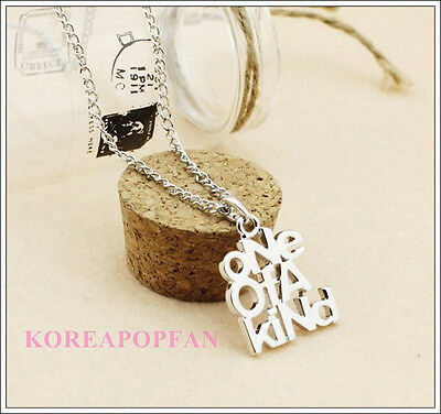 G-dragon GD one of a kind Alloy Necklace bigbang KPOP Free shipping