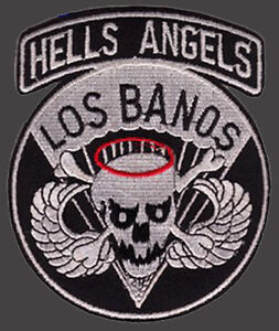 Details about 503rd Airborne Hells Angels Los Banos Infantry IRON ON PATCH